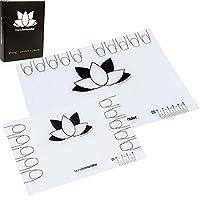 BMC 2pk Silicone Nail Art Decal Maker Workspace Sheet - Lotus Mat: Go and Mini