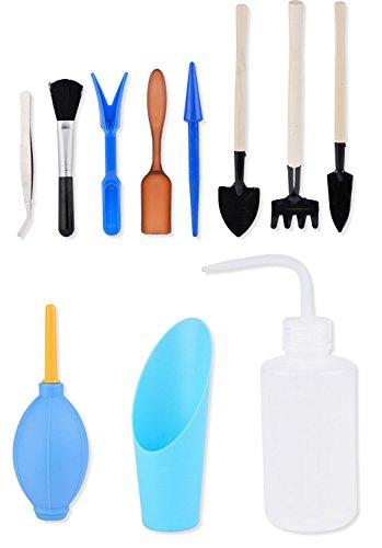 Mini Gartenwerkzeug, Fansport Garten Handwerkzeug Sukkulenten Verpflanzen Pflanzen Gartenwerkzeug für Zimmerpflanzen Pflege