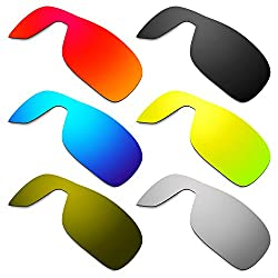 Hkuco Mens Replacement Lenses For Oakley Turbine Rotor Redblueblack24k Goldtitaniumbronze Sunglasses