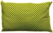Soft Polycotton Pillow By Valentini GreenQueen size 50 X 75 cm