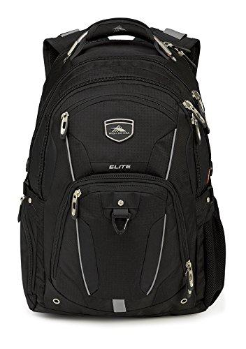 High Sierra Elite Backpack, Black