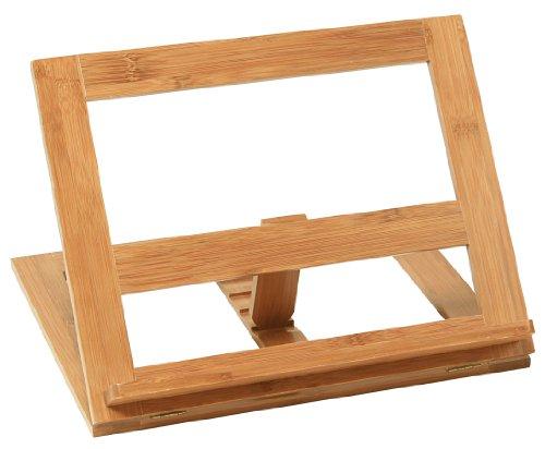 Kesper 56015 Kochbuchständer aus Bambus , 33 x 26.5 x 2 cm