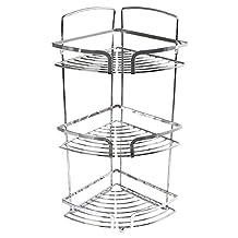 In-house Stainless Steel Corner Shower Rack (Silver)