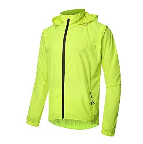 Huateng abbigliamento sportivo smontabile da uomo all'aperto completo di giacca a maniche lunghe e corta da alpinismo