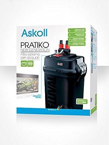 Askoll Pratiko 400 New Generation Filtre externe pour aquarium, 400 (Esterno Biologico Filtro)