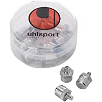 Uhlsport Alu Cylindrical Hexagonal Base - Tacos de fútbol, talla 16/18 mm