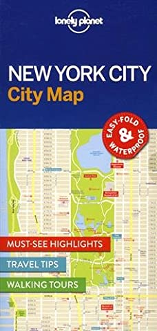 Lonely Planet New York City Map (Travel Guide)