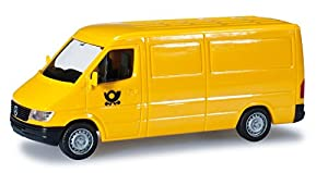 Herpa 012577 - Minikit Mercedes-Benz Sprinter Deutsche Post, Modelo en Miniatura