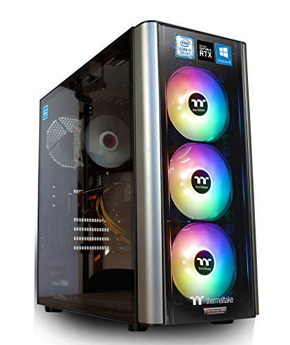 Gaming PC RGB Level 20 Intel i7-8700 6x3.2 GHz - 480GB SSD + 2TB HDD - 16GB DDR4 - RTX2060 6GB - Windows 10 Pro Spiele Computer Desktop Rechner (I7 Desktop-computer-tower)