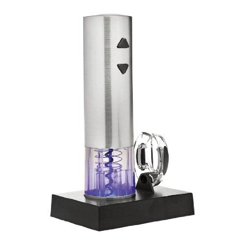 Elektrischer Weinöffner automatisch, Weinflaschenöffner Set, Korkenzieher Profi mit Akku, Geschenk-Idee