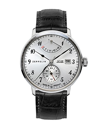 Zeppelin Unisex Reloj de pulsera Cronógrafo Cuarzo Piel 7062–1