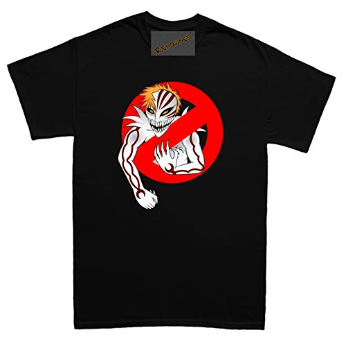 Renowned Hollow Busters logo Herren T Shirt Schwarz