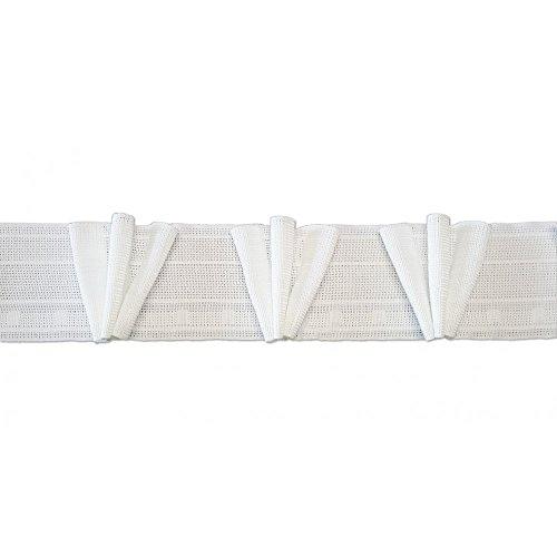 Ruflette velcro plis flamands 70mm coefficient 2.5 - vendu au ML