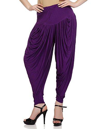 Sakhi Sang Dark Purple Dhoti Salwars