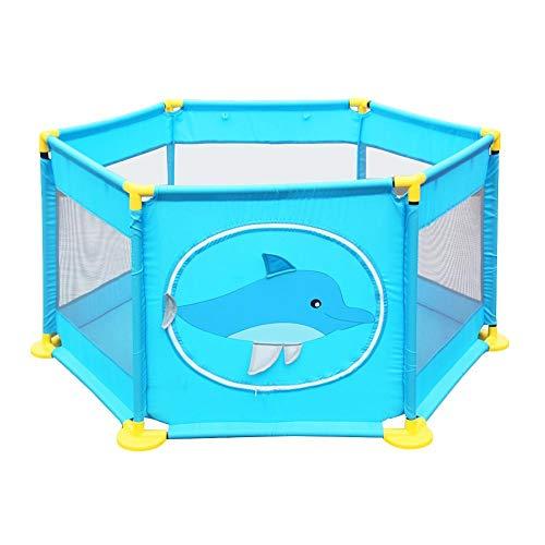 per Parques de Juegos para Bebés Corralitos para Bebés Plegables Barrera de Seguridad Piscinas de Bolas Infantiles