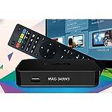 Best Iptv Boxes - MAG 349 Latest Original Linux IPTV/OTT Box Review