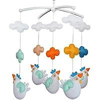 Baby Dream Musical Mobile, Bunt, [Hens] Handgemachtes Baby Geschenk preisvergleich bei kleinkindspielzeugpreise.eu