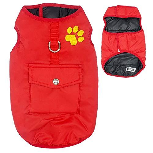 TYJY Chihuahua Mops Hund Kleidung Plaid Winter Hund Kleidung Mantel Warm Für Kleine Mittelgroße Hunde Katzen Yorkshire Puppy Mantel Xs-3Xl L -