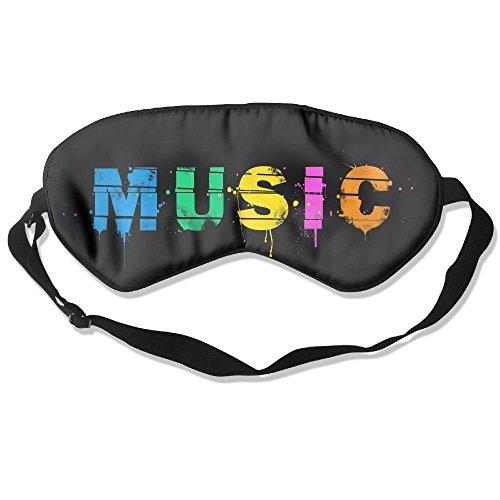angenehmen Schlaf Augen Masken Musik Muster Schlafmaske für Reisen, Night Noon Nap, Vermittlung oder Yoga