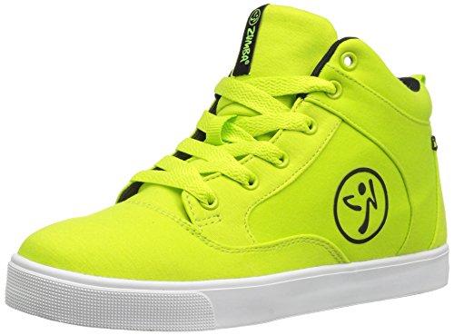 Zumba Footwear Street Fresh, Chaussures de Fitness Fille, Vert (Green), 36.5 EU