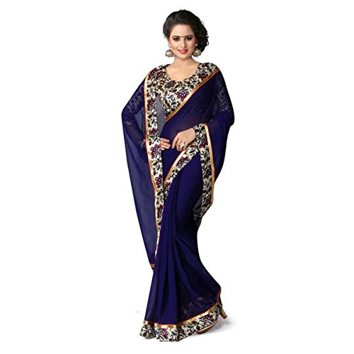 Mansi Tex - Women Crepe Chiffon Saree ( ZZ-263 __Free Size)...[ Printed sarees with lovely print and Blouse Women's Clothing Latest Designe and workwear Ceremony Sari New Collection Multi Coloured Art silk Material Half Saree Lehenga Sadi for With Designer Blouse Free Size Beautiful Bollywood For Party Wear Offer georgette Cotton & Crush Velvet & Net Sadi Buy Online Today Offers Sale women cocktai