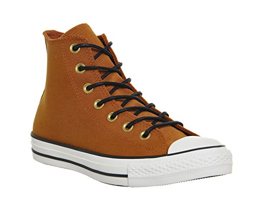 153807C CONVERSE SNEAKERS HIGH CAMEL SEPIA / BLACK