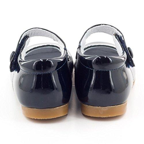 Boni Princesse II - Chaussure fille premiers pas Vernis Noir