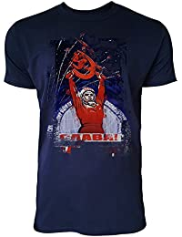 ab9f468129c4 Paul Sinus Art Soviet Times Herren T-Shirts Stilvolles Dunkelblaues Navy  Fun Shirt mit Tollen