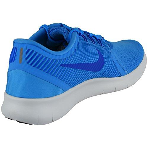 Nike Free Rn Cmtr, Chaussures de Running Entrainement Homme Azul (Blue Glow / Hyper Cobalt-Wolf Grey)