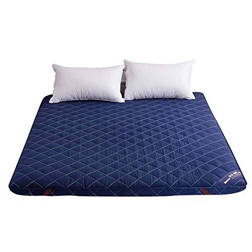 AA-mattress Chuang Verdicken Sie Tatami Sleeping Floor Mat, Faltbare Ergonomie japanische Bett Roll Matratze Topper Pad Cover Bett für Studentenwohnheim-Queen -