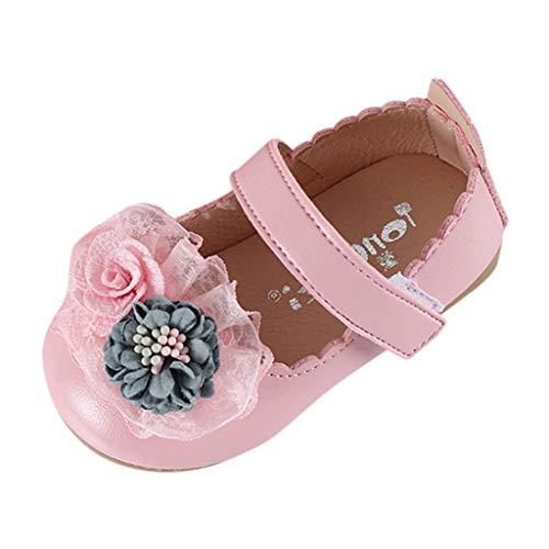 (Babyschuhe Mädchen Neugeborene Weiche Rutschsicheren Baby Schuhe(15-19,21-30))