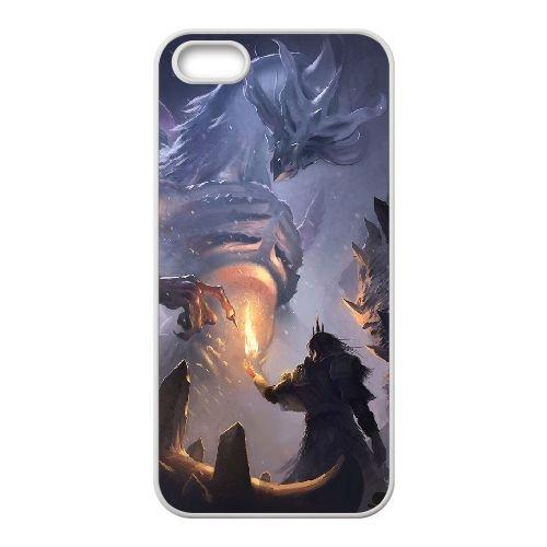 Dark Souls coque iPhone 4 4S Housse Blanc téléphone portable couverture de cas coque EBDXJKNBO15791