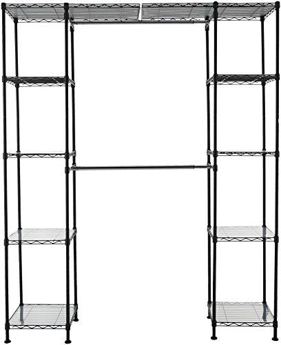 AmazonBasics - Sistema organizador armario extensible