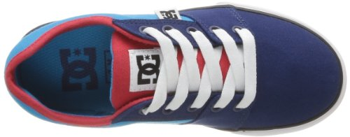 DC Shoes Bristol Canvas B Shoe Br, Baskets mode garçon Multicolore (Blue/Red)