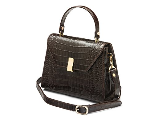 SageBrown, Mocassini donna Brown Croc