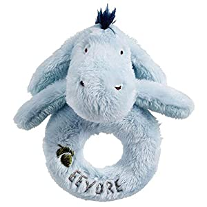 Rainbow Designs Disney Hundred Acre Wood - Eeyore Ring Rattle