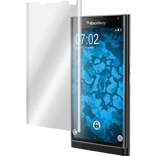 PhoneNatic 4er-Pack Bildschirmschutzfolien klar Flexible Folien kompatibel mit BlackBerry Priv