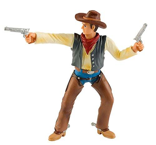 (Bullyland 80671 - Spielfigur, Cowboy mit Colts, ca. 10 cm)