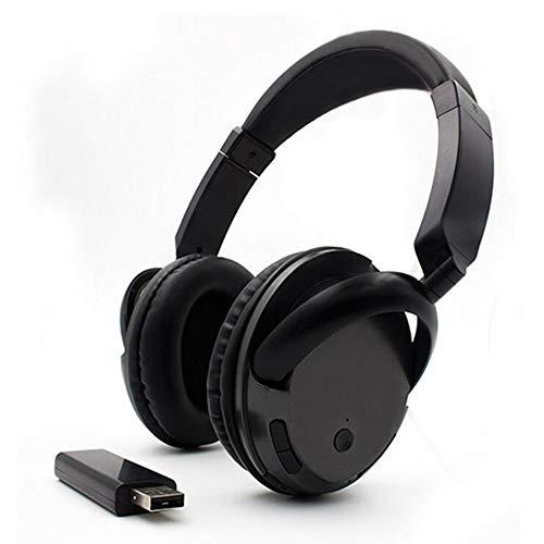 XPFFXX Wireless-Headset Für Tv-Pc-Computer Mp3-Tv-Headset Mit Ohrhörer Unterstützung Der Fm-Funktion Mit USB-Transmitter