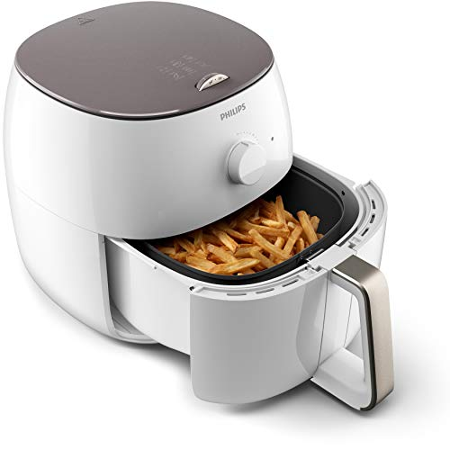 Philips HD9750/20 Airfryer XXL - Friggitrice ad aria calda, colore: Bianco