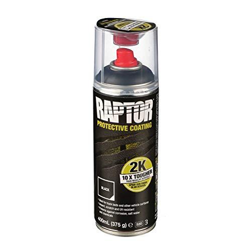 !NEU! UPOL RAPTOR Transportflächen Beschichtung schwarz 2K Spray - schwarz 400ml