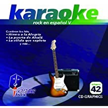 KBO-42 xitos De Rock En Espa??ol V(Karaoke) by Los Inhumanos, Ritmo Peligroso, Ol' Ol', Ana Bel??n Y Victor Manuel, Radio Futura, Toreros Muertos, Bon Y Los Enemigos Del Silencio, Toreros Muertos, Alaska Y Dinarama, Radio Futura Caifanes (2012-02-28)