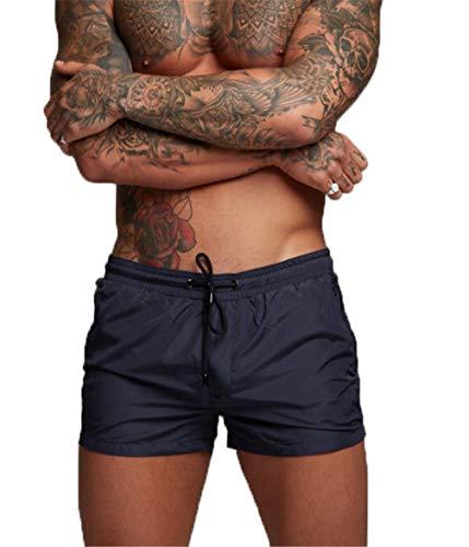 Uomo Slip da Bagno per Surf Hotspring sulla Spiaggia EDOTON Pantaloncini Sportivi
