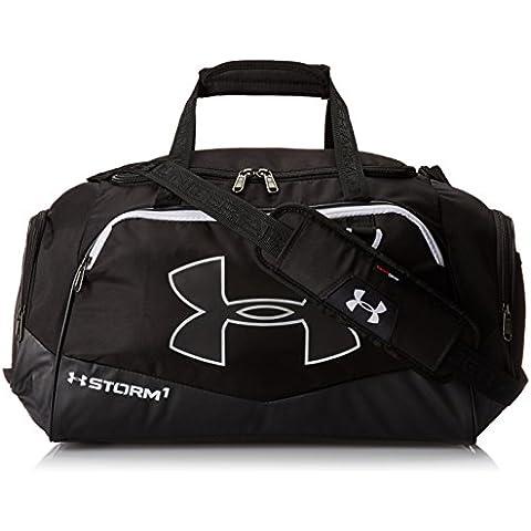 Under Armour Multisport Reiasche und Gepäck UA Undeniable Duffel II - Bolsa de deporte para golf, color negro / blanco, talla