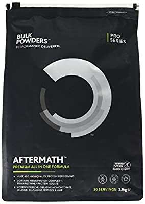 BULK POWDERS AFTERMATH, All In One Protein Powder, Double Chocolate - 2.1 kg from BULK POWDERS