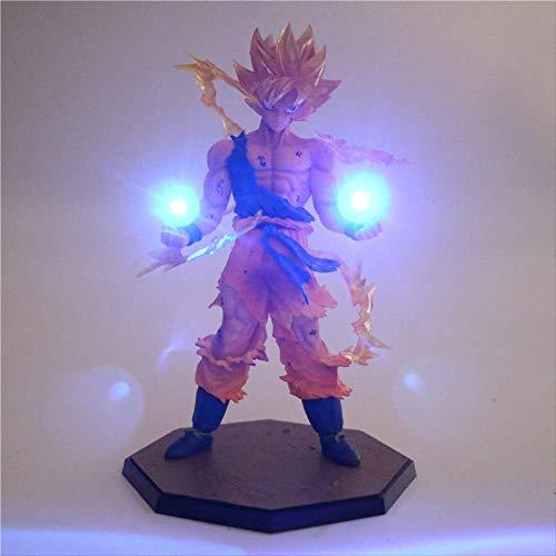 Anime Dragon Ball Z Son Goku Led Light Super Saiyan