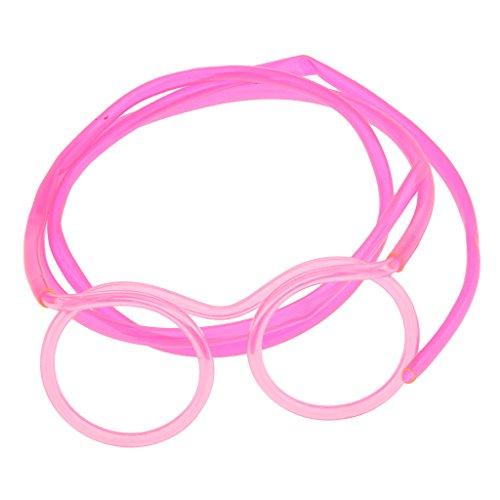 MagiDeal Lustiges Brillen Trinkhalme Strohhalme Knicktrinkhalme für Party -
