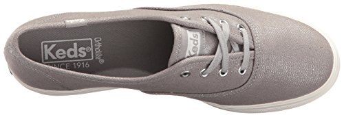 Keds Damen Triple Metallic Sneaker Silber (Silver)