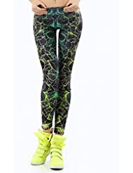 Pantalons De Yoga Fitness Digital Design éTait Mince Pantalon Extensible Pieds LNAG