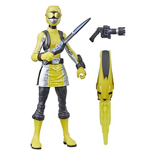 Hasbro Power Rangers Beast Morphers Yellow Ranger 6